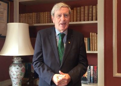 Ambassador Daniel Mulhall – Irish Week 2021 Greetings