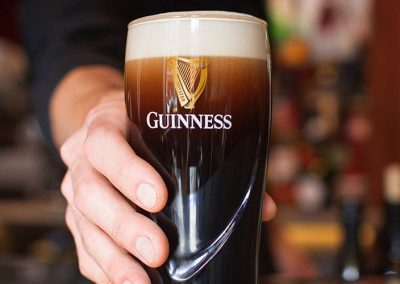Pouring a Proper Pint of Guinness